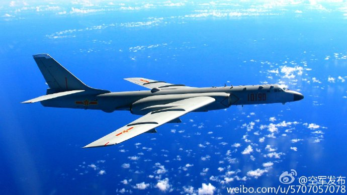 中国空军机群赴南海多个岛礁常态化战巡(图) - 春华秋实 - 春华秋实 开心快乐每一天