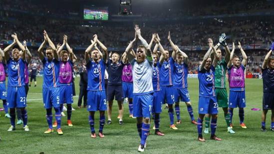 冰岛球迷维京战吼