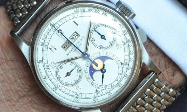 钢表比金表贵?传奇百达翡丽1518不锈钢款将拍卖