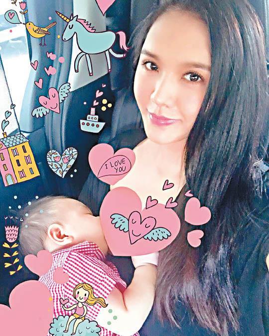 【美人鱼乐】官恩娜自曝喂母乳照片 曾在酒店喂宝宝遭人投诉