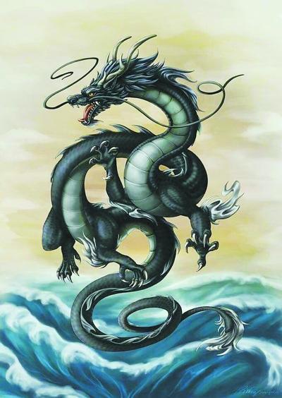 """""""《西游记》中的白龙马形象也深受中国传统观念的影响,因而从陆生动物"""