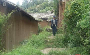 600多年古村落的农村房 至今还有人居住