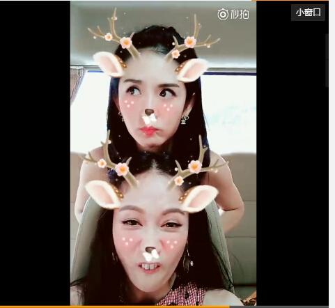 【星娱TV】陈乔恩谢娜化身美丽小鹿 表情搞怪停不下来(图)