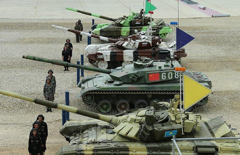 2015俄罗斯国际军事比赛