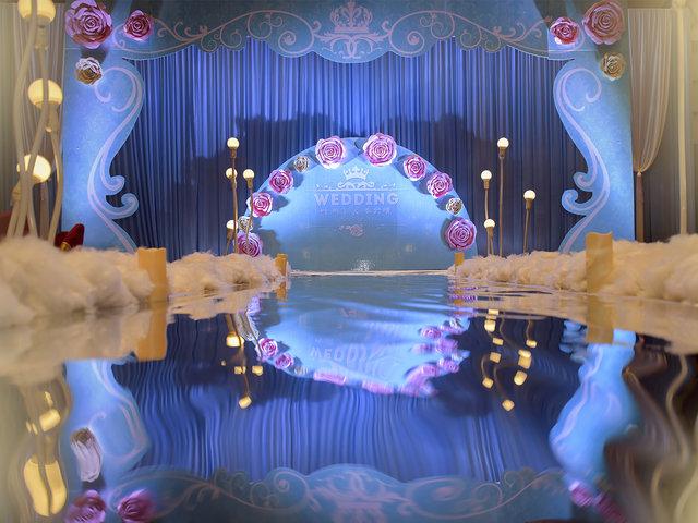福州婚庆公司8090海洋婚礼策划主题献给新人