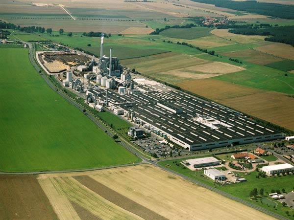 柯诺木业位于德国最大的生产基地