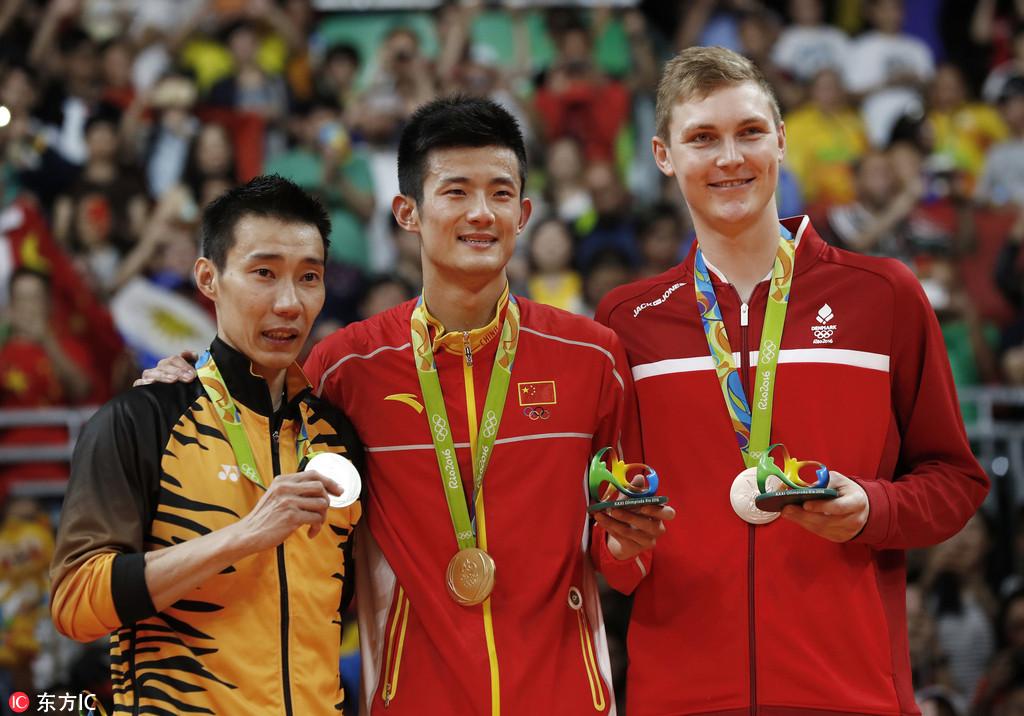 奥运冠军谌龙成长史 儿时就是小正太