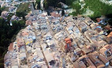 意大利6.2级强震 半个城镇被夷为平地