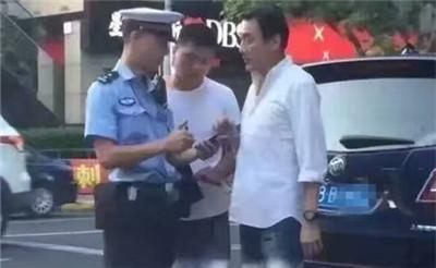 """""""警界大咖""""被抓?梁家辉在上海被交警开罚单"""
