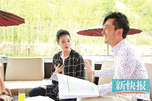 蒋欣:舒淇甜蜜结婚让我看到了希望