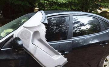 车主忘记锁车门 回来时他已经不想要这台车了