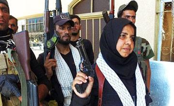 """一位伊拉克女性的""""复仇""""之路"""