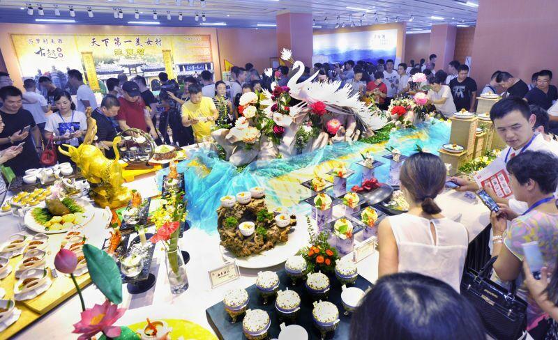宴席设计展示以中餐主题宴会设计为主线,涵盖台面主题创意设计,菜单设
