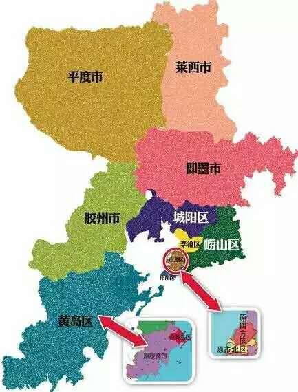 要通过撤县(市)设区,建设卫星城,形成组团型城市,提高济南,青岛的辐射