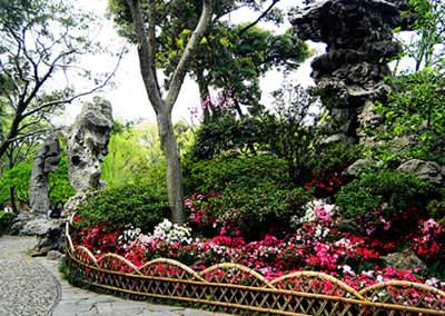 中国古典园林景观障景分享展示