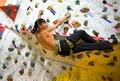山东省第六届全民健身运动会攀岩比赛青岛举行