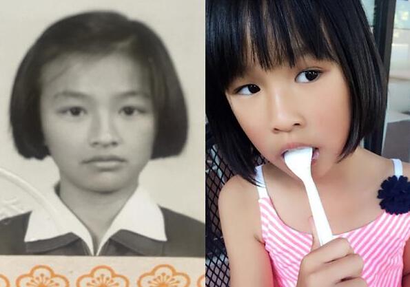 张庭的女儿越来越美,和妈妈年轻的时候一个模样(图)