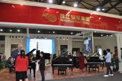 珠江钢琴集体携强大阵容赴2016上海国际乐器展览会