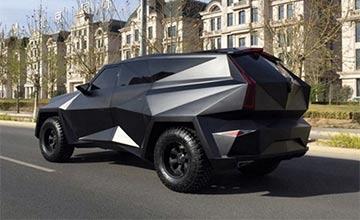 清华学子设计国产SUV售价1200万,比宾利更加豪华