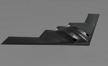 中国彩虹805隐形无人靶机亮相 酷似美军B-2