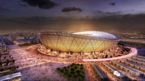 """中国""""国家队""""打进2022世界杯 中企首次承建主体育馆"""