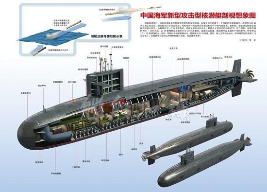 中国海军095核潜艇或开工 已解决核反应堆技术难题