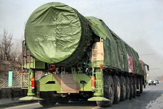 中国加快列装东风41扩充核武库 绝不向美国纳贡称臣