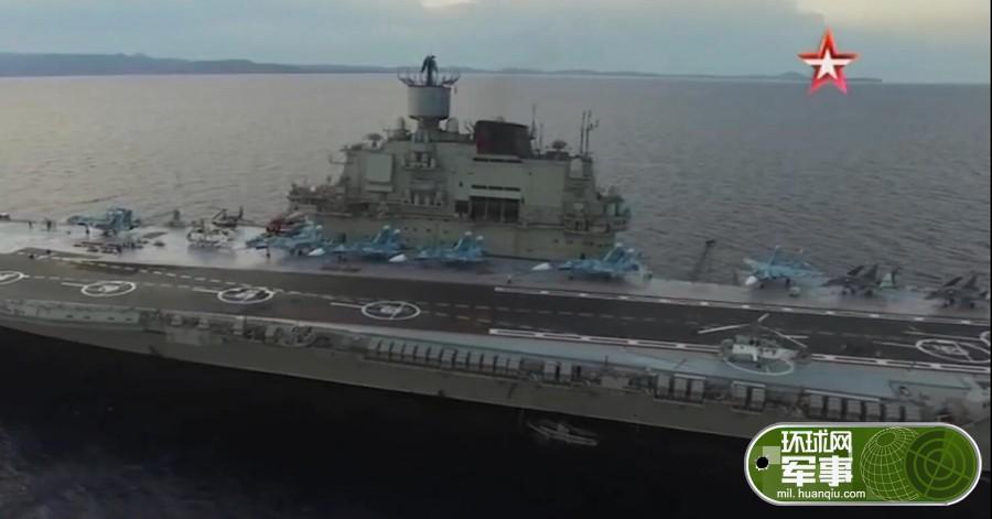 徒有其表:俄航母又摔一架苏-