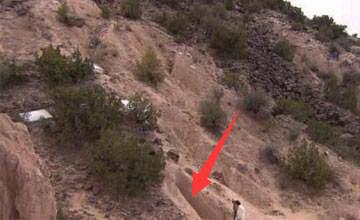 男子隐居沙漠25年 被发现时所有人怔住了