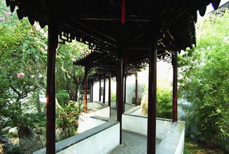 苏州园林里的廊
