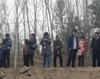 濮阳市环保局局长孟福堂到台前县金堤河沿线检查指导水污染防治工作