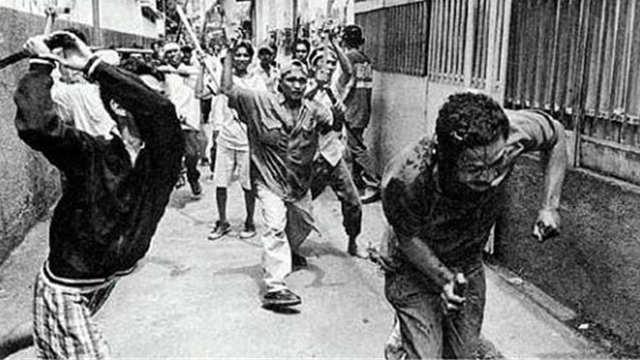 南洋几次血腥屠华事件真相 活下来的都是勇士