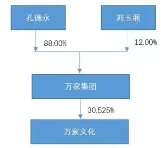 赵薇老师在龙薇传媒的股权结构是这样的