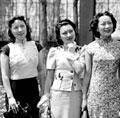 中西合璧的民国女装