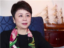 爱心人寿保险公司董事长张延苓为爱发声
