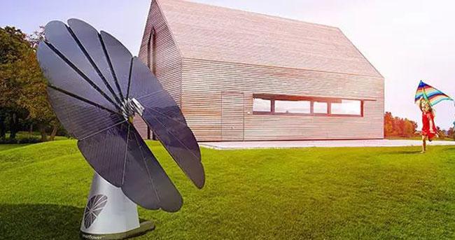 """黑科技:""""向日葵""""太阳能发电系统问世"""