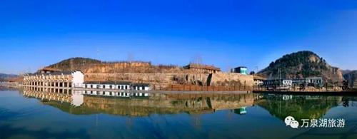 """万泉湖荣膺""""国家4a级旅游景区"""",为林州旅游事业增添了浓墨重彩的一笔"""