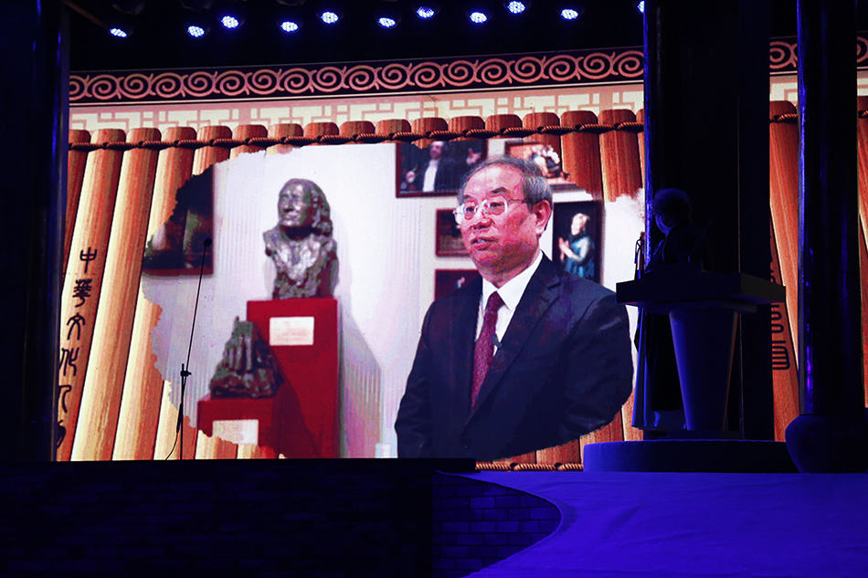 国家大剧院院长陈平获奖