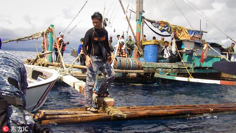 论中国巡航必要性:菲渔船疑遭海盗袭击 8人被害