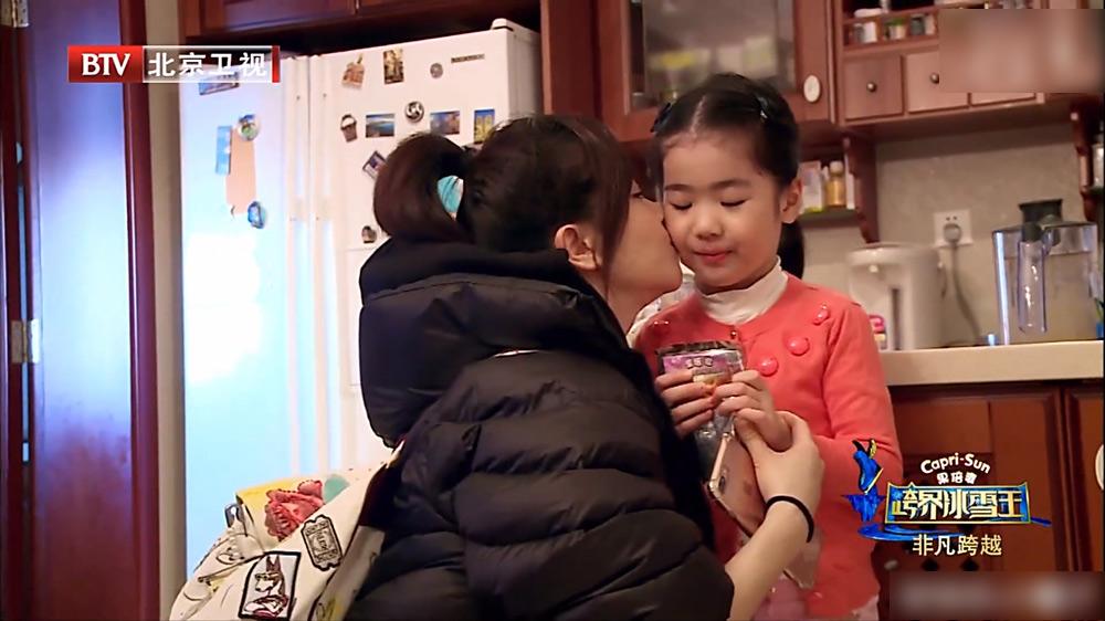 她与陈道明传绯闻 带女儿上节目曝豪门生活