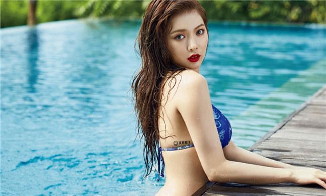 她被封为韩国最性感女星