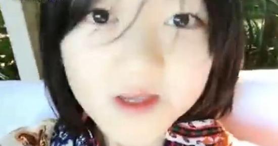 李嫣再发新视频!手机估计又要被李亚鹏没收(图)