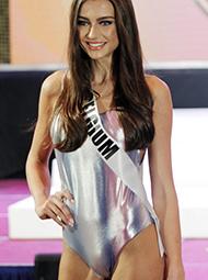 菲律宾环球小姐泳装秀现场