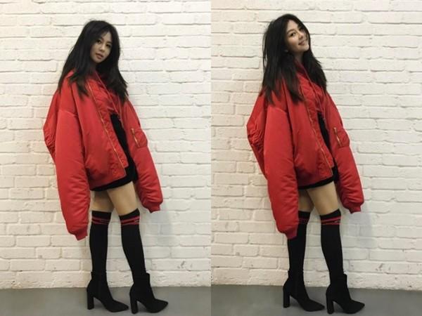 邱淑贞15岁爱女近照曝光 超短裙秀逆天大长腿(图)