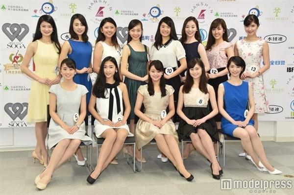 2017日本小姐总决选13强网友:眼瞎了