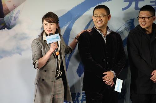 电影  凤凰网娱乐讯(采写/二萌 摄影/卡卡西) 2月8日,导演梁栋携主演