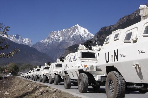 中国援助尼泊尔装甲车 拉萨暴乱曾立奇功 (组图)