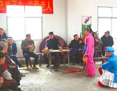 赣南采茶戏团老戏骨60余年的坚守