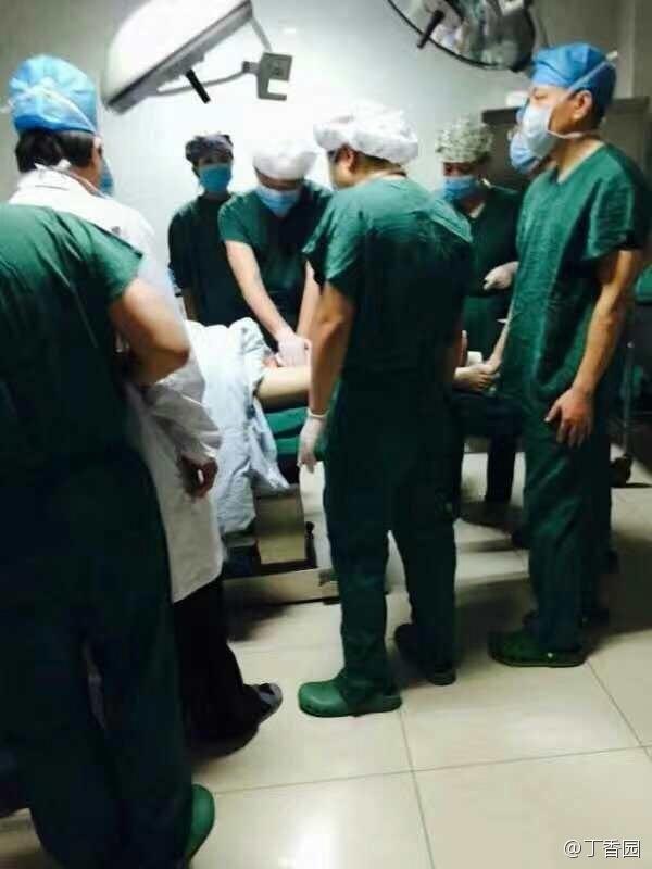 江苏省人民医院医生办公室内被砍 大动脉破裂(图)