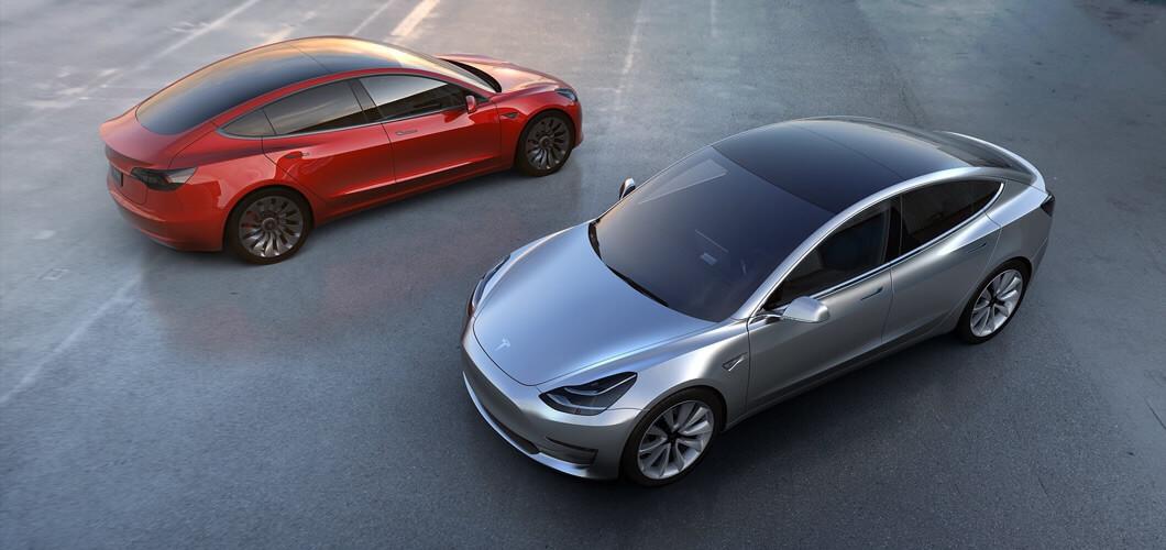 图:特斯拉Model 3